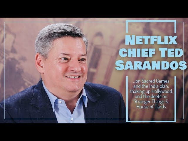 Rajeev Masand interview with Netflix chief Ted Sarandos
